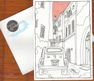Colaboración con Expo Postales desde el limbo