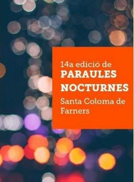 Paraules Nocturnes cartell